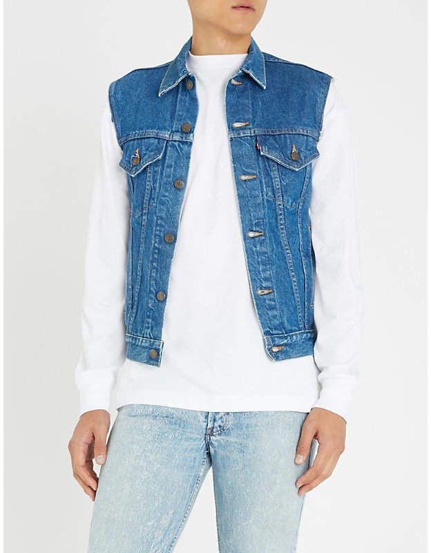 Vintage Levi's Sleeveless Denim Jacket