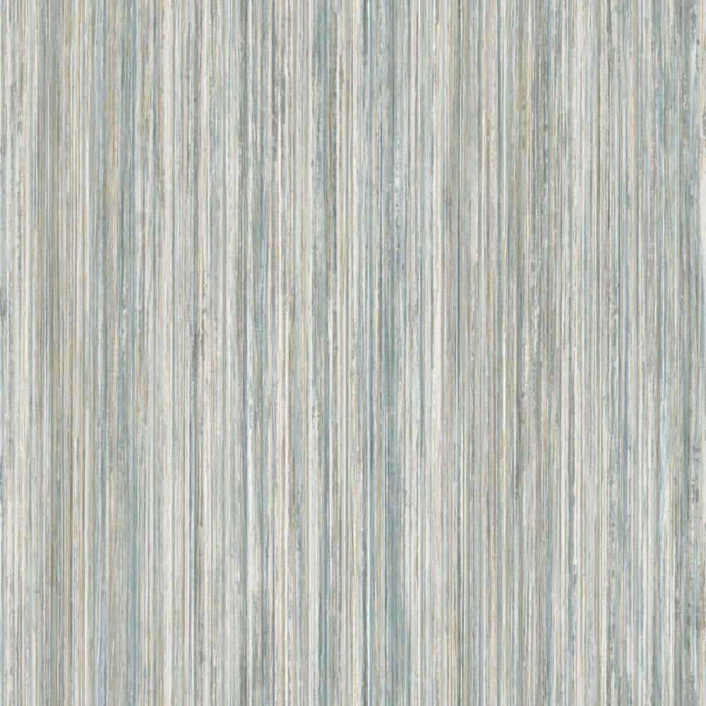 Painted Stripe Wallpaper In Blue From The Modern Art Collection By Yor In 2021 Striped Wallpaper Wall Coverings Paint Stripes
