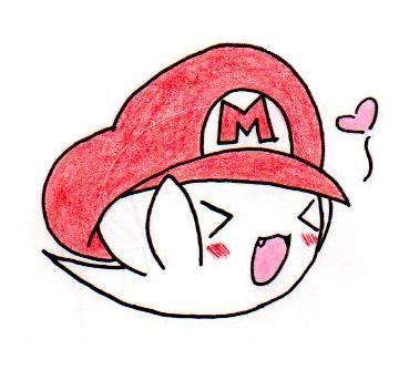 Chibi Boo All Mario Super Mario Mario Mario Bros
