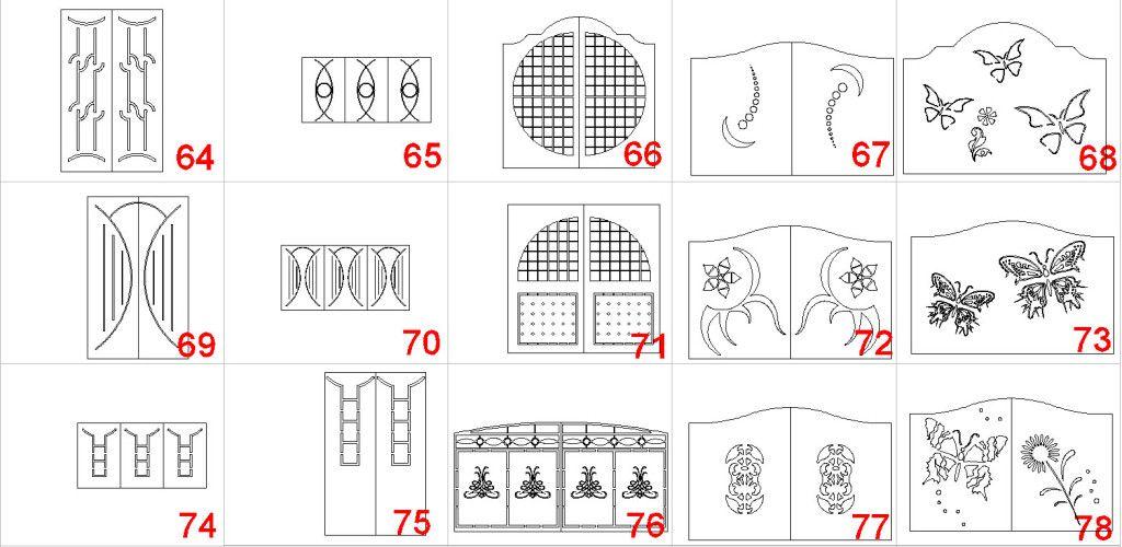 Disegni Dwg Cancelli 6 Xxxss Pinterest Paper Cutting Design E