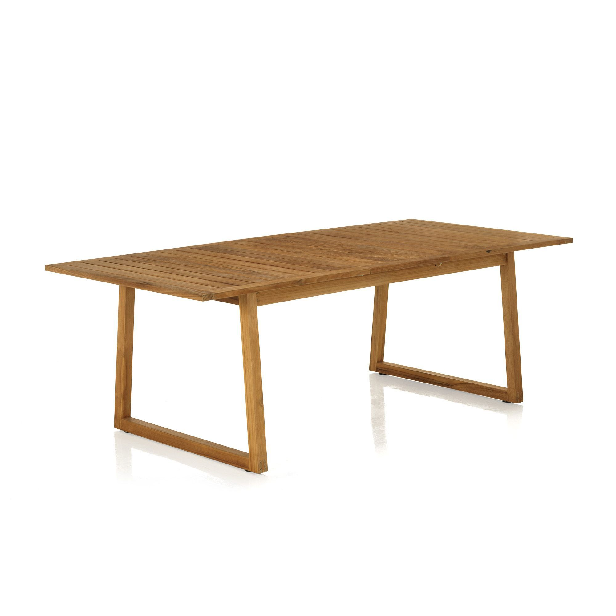 Emejing table de jardin extensible alinea contemporary for Table rectangulaire extensible