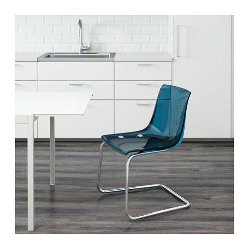 tobias stuhl blau verchromt pinterest r cken ikea und stuhl. Black Bedroom Furniture Sets. Home Design Ideas