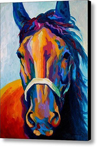 Nan Wind Horse Art Prints On Canvas Animal Painting For