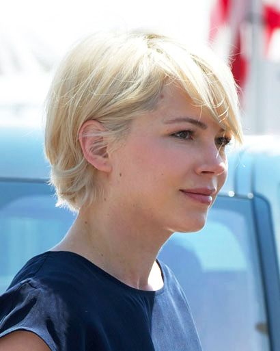 Short Hairstyle Gallery Hollywood Actresses Who Chopped Their Locks Cute Hairstyles For Short Hair Michelle Williams Hair Short Hair Styles For Round Faces