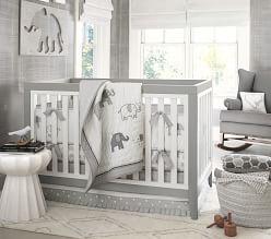 Unisex Baby Crib Bedding Unisex Nursery Bedding Pottery Barn Kids