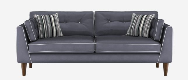 Sofa Works The Cricket Collection Love Pewter Colour