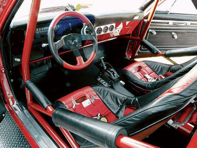 Modifikasi Interior Bergaya Racing Mobil