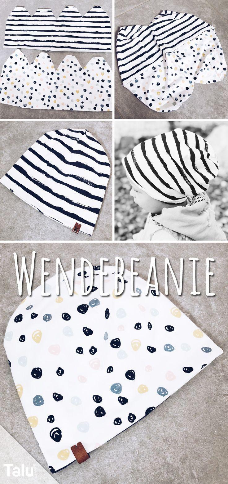 Wendebeanie für Babies nähen – Anleitung & Schnittmuster #crochetclothes