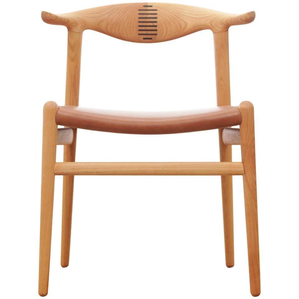 Mid Century Modern Scandinavian Chair Model Cow Horn Pp 505 By Hans Wegner Scandinavian Chairs Scandinavian Armchair Dining Room Chairs Modern