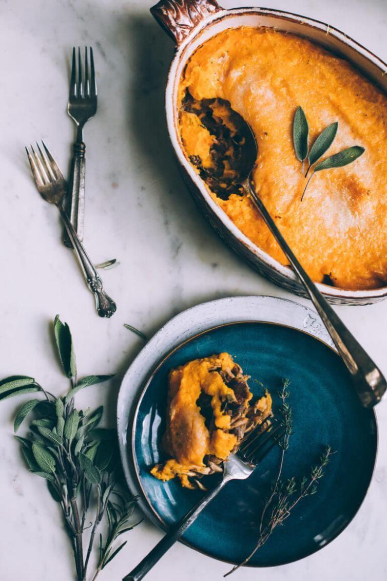 Crazy Delicious Vegan Thanksgiving Dinner Recipes (Main Dish+Sides) Vegan Butternut Squash Shepherds Pie (gluten-free) // Vegan Thanksgiving Dinner Recipes (Main Dish+Sides) | The Green LootVegan Butternut Squash Shepherds Pie (gluten-free) // Vegan Thanksgiving Dinner Recipes (Main Dish+Sides) | The Green Loot
