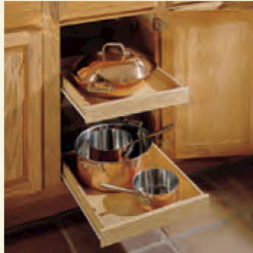 Kitchen Kompact 24 W Sliding Tray Kit 2 Pack At Menards Kitchen Remodel Kitchen Kitchen Cabinets
