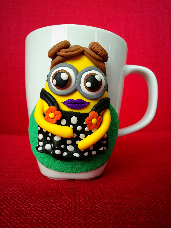 Personalized mug Minnions, Coffee mug, Personalised mug,Cute coffee ...