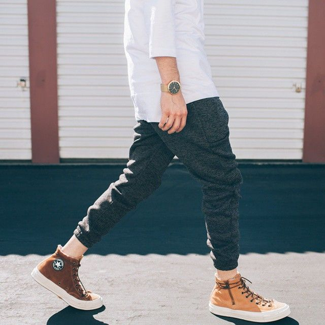 Casual steeze.  Pictured: 'Noel' two-tone Jogger  Publisher: @brightong ••••• #PublishBrand #PublishJoggers #JoggerPants #Publish #Publishers #Joggers #MensFashion #MensWear #MensCollection #MensStyle #OOTDMen #TeamCozy #MensPants #MensShop #MensOutfit #FashionForward #MenWithClass #MensWithStyle #urbanfashion #urbanwear #urbanstyle #sneakerhead #kotd #converse1970 #chucktaylor