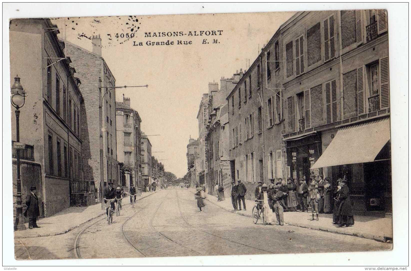 Cartes Postales / maisons alfort - Delcampe.fr | Rue, Carte postale, Postale