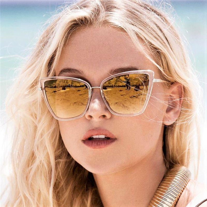 1f04a3c47dca9 STORY Sunglasses Women Cat Eye Style Metal Frame Retro Sexy Female Sun  Glasses Brand Designer Alloy