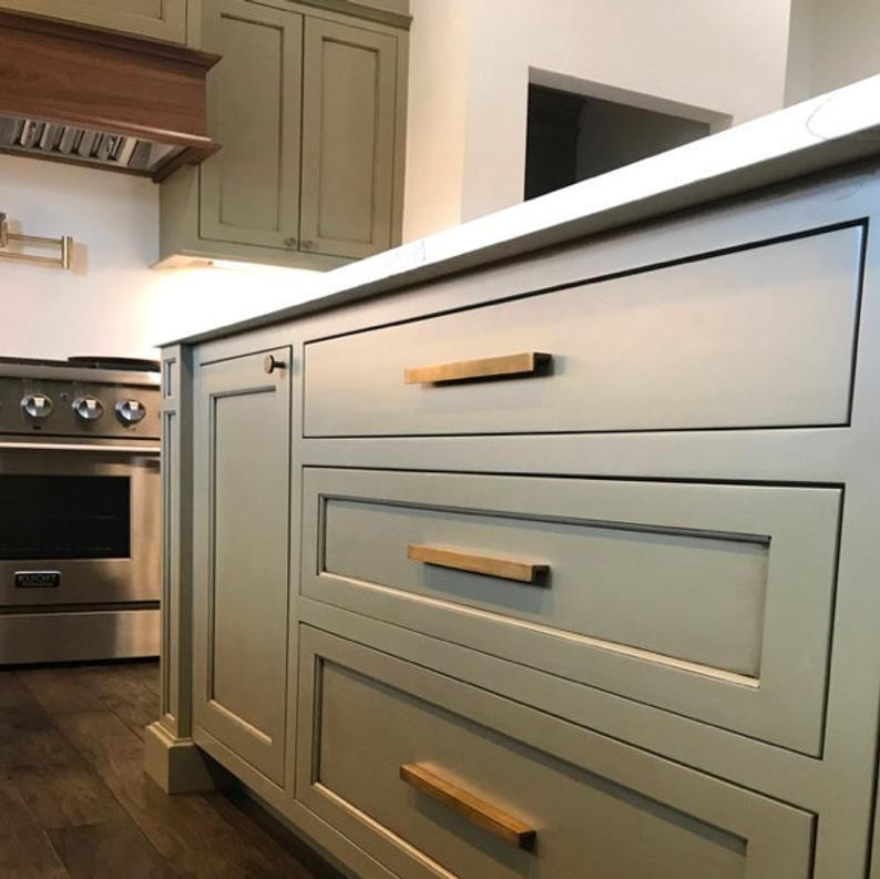 Brass Kitchen Handles Solid Unlacquered This Style Is Available In Two Sizes With Over 100 Other Styles To Select All Come With Screws Kitchen Handles Brass Kitchen Handles Brass Kitchen