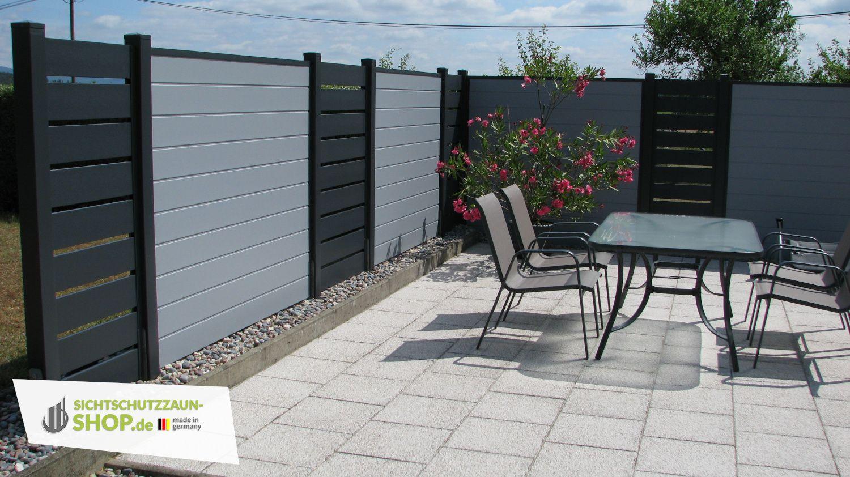 Blickdichter Sichtschutzzaun Ideal Fur Den Garten Und Die Terrasse