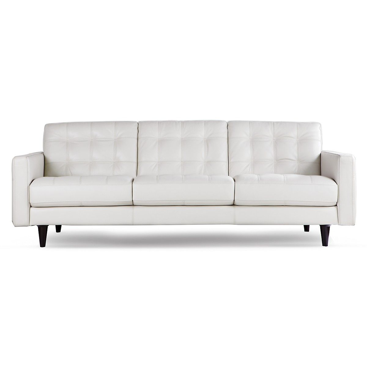Sleek Leather Couch Bloomingdales Sofa Leather Sofa Bloomingdale S Thesofa