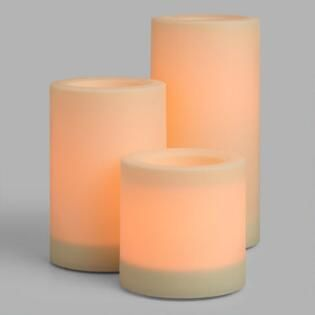 Outdoor Flameless Candles Impressive Large Flameless Outdoor Led Pillar Candles  Shop Online  Pinterest Design Ideas