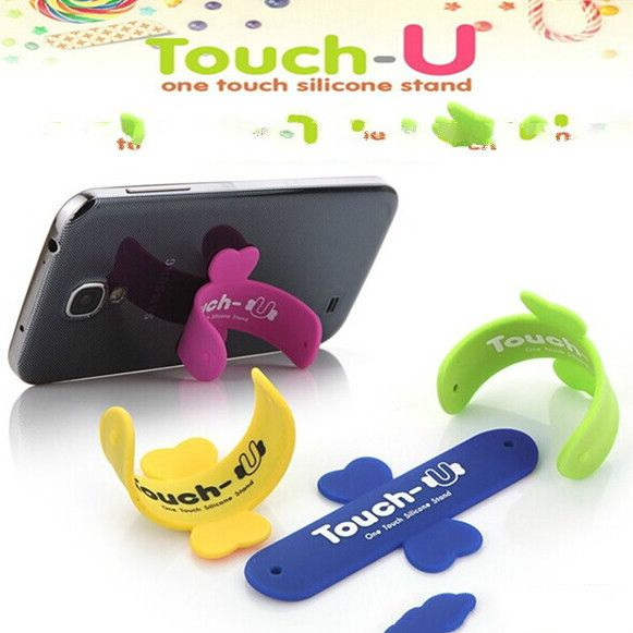 U support for mobile phone Magic Sticker phone ring holder for iphone phone holder