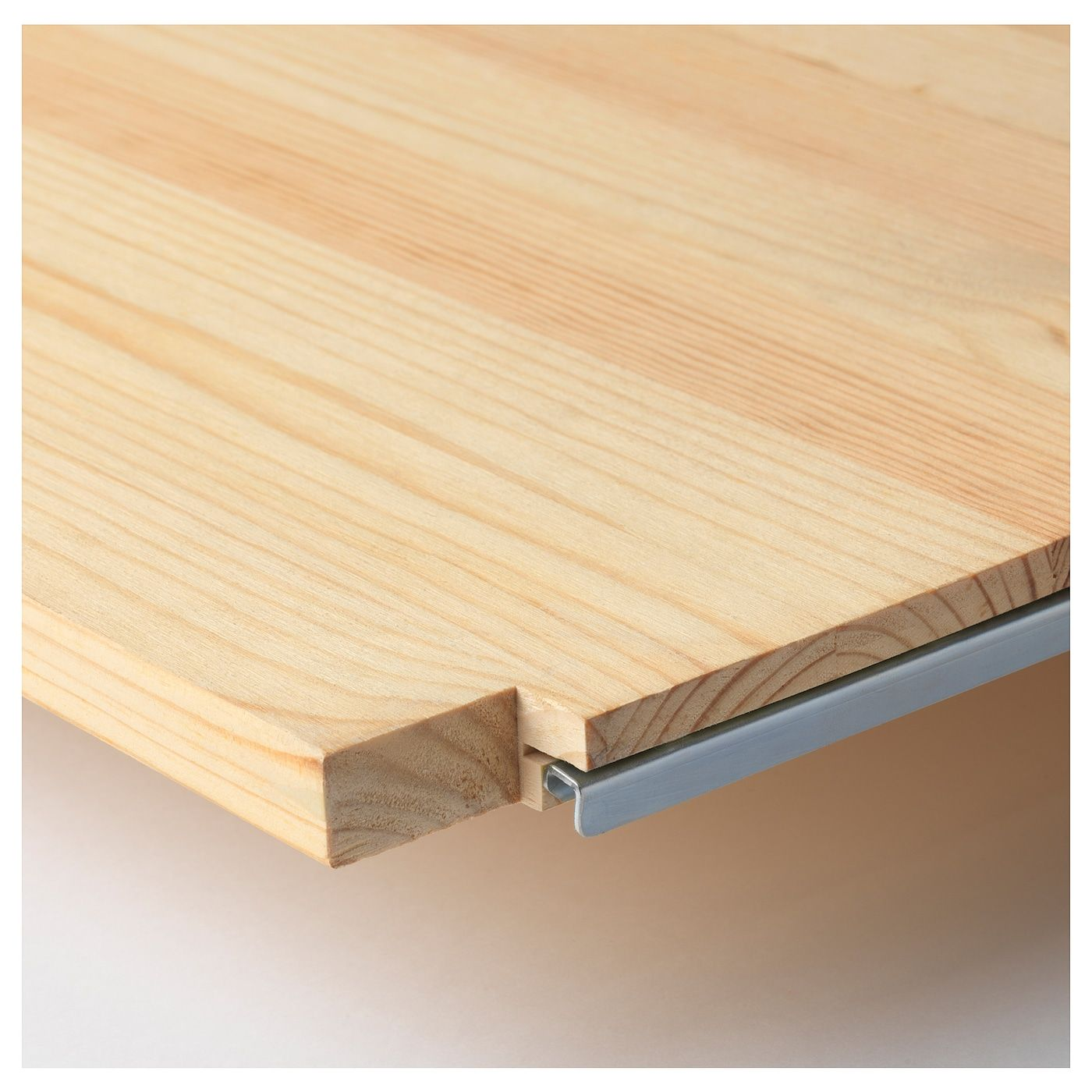 IVAR is made of untreated solid pine