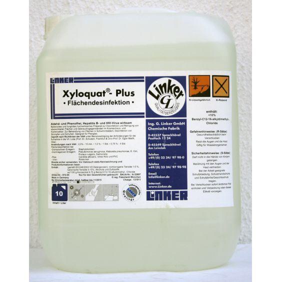 Linker Xyloquat Plus Flachendesinfektion 10 Liter Onlinehandel