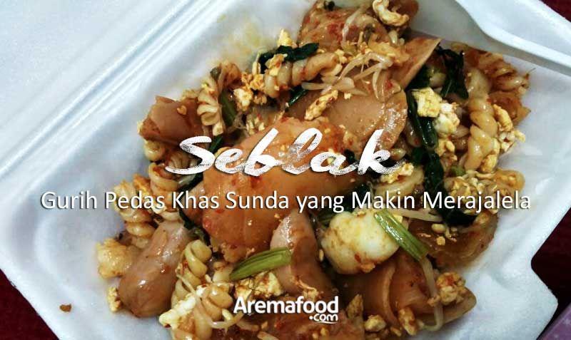 Seblak Khas Sunda Kuliner Kota Malang Makanan Sayuran Protein