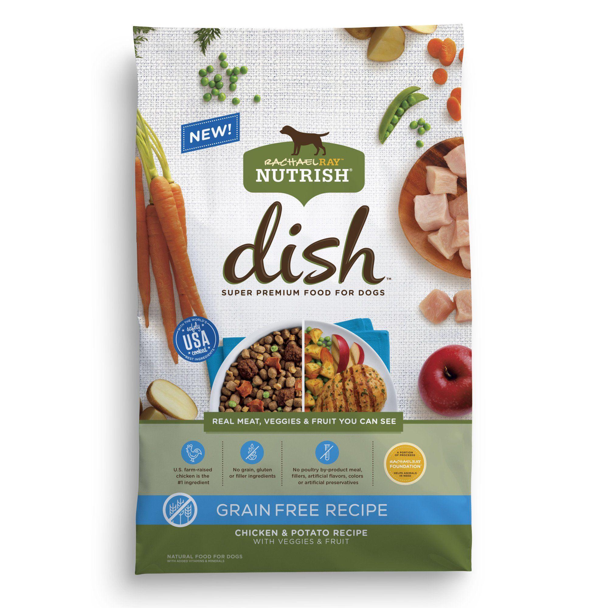 Rachael Ray Nutrish Dish Natural Grain Free Chicken Potato