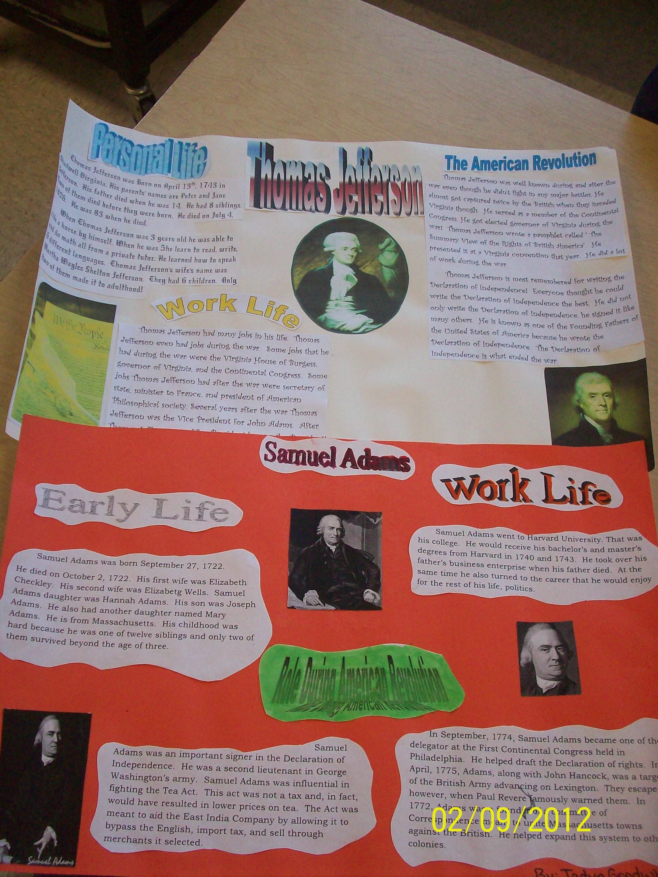American Revolution Poster Project