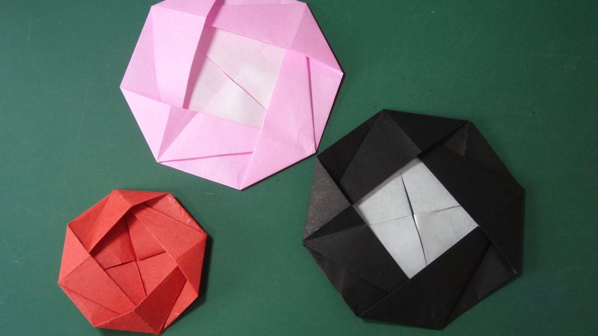 万華鏡 枚 折り紙 作り方 208