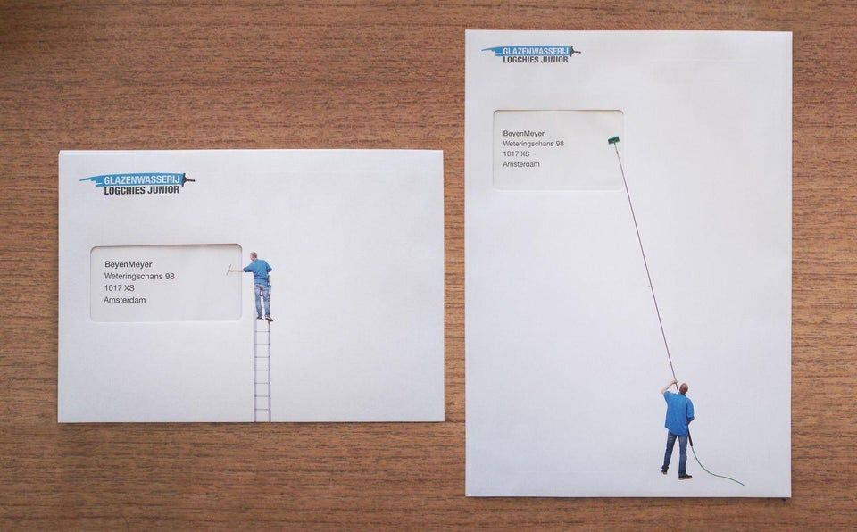 These Envelope Designs By Window Cleaning Company Designporn In 2020 Business Cards Creative Business Cards Collection Window Cleaner