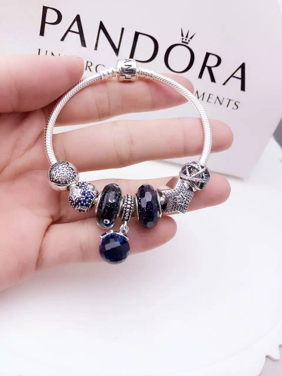 pandora sterling silver charm bracelet cb01346 pandora online shop