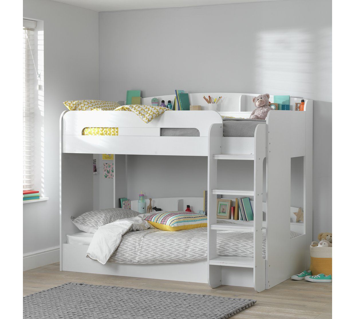 check out 63201 3753b Buy Argos Home Ultimate White Bunk Bed Frame | Kids beds in ...