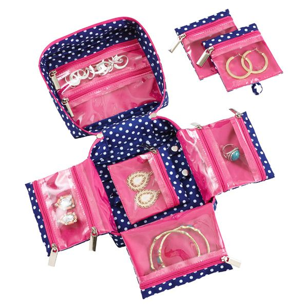 Loving this see thru fold out jewelry organizer Great Gift Ideas