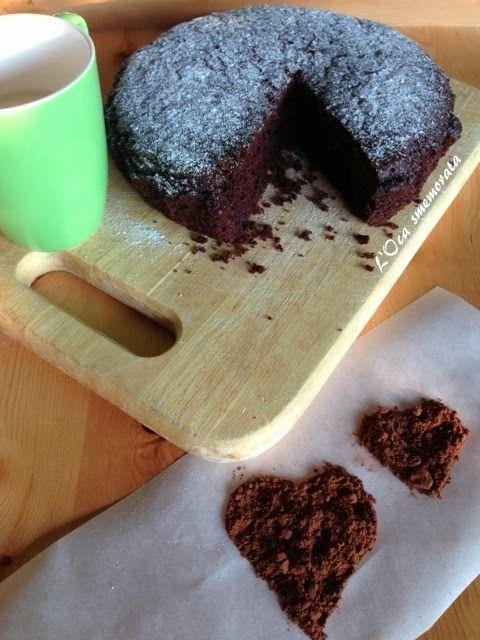 Double chocolate cake vegan