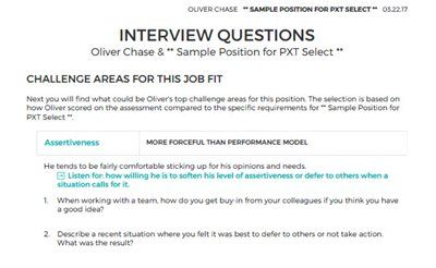 Sample From Pxt Select Report Pagehow Does Pxt Select Work