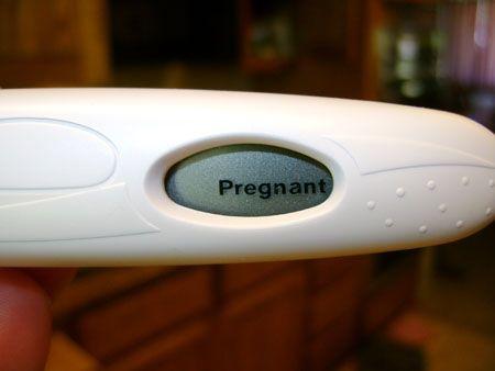 digital pregnancy test