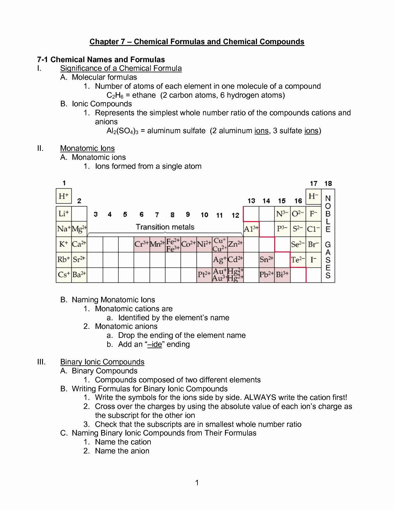 Naming Ionic Compounds Worksheet Answers Lovely Number