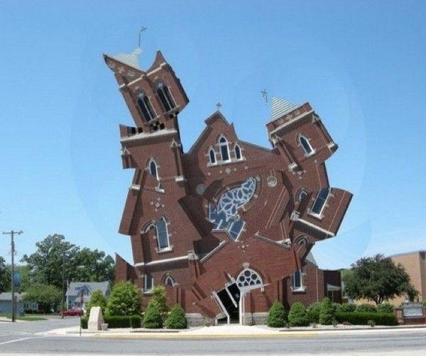 Michael Jantzen Deconstructs Buildings Into Fantastical ...