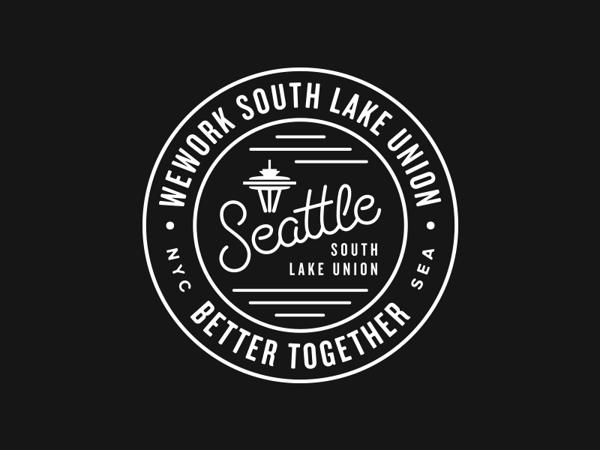 Wework Seattle Badges On Behance