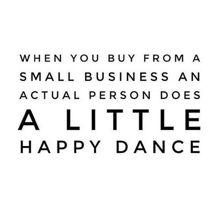 Today is Small Business Saturday and when you shop small your