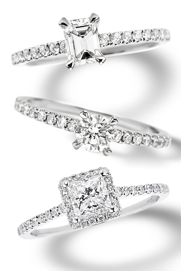 Petite Engagement Rings That Pack A Punch These Rings From Sylvie