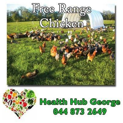 Did you know that Health Hub George is proud to announce #Karoo free range chickens and eggs available from Health Hub George. #chickens #freerange