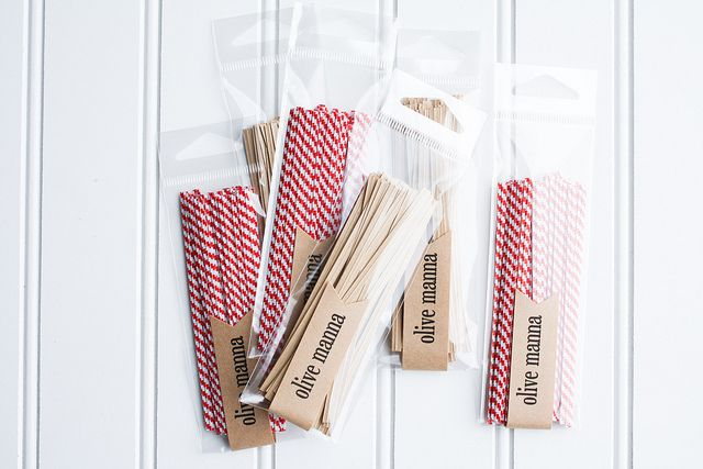 Sweet little twist ties for decoration or closing a gift bag.