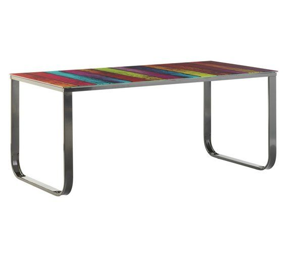 Astonishing Buy Home Rainbow Coffee Table At Argos Co Uk Your Online Frankydiablos Diy Chair Ideas Frankydiabloscom