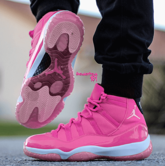 e1ebd9c74207ee Pink Air Jordan 11 Pantone   Will You Buy Them