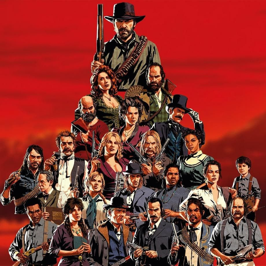 Red Dead Redemption 2 Gang S Instagram Post Happy 1st Birthday Rdr2 I Doesn T Feel Like It S Been A Red Dead Redemption Red Dead Redemption Ii Character