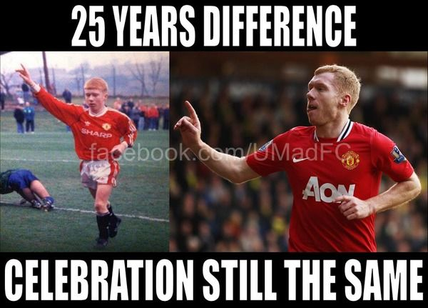 One Paul Scholes Manchester United Legends Manchester United Football Club Manchester United Football
