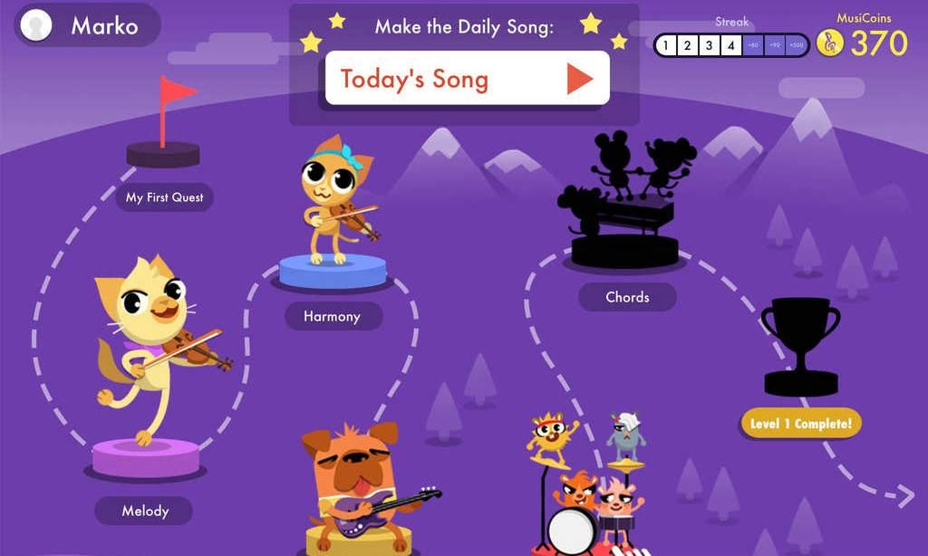 kid friendly music app