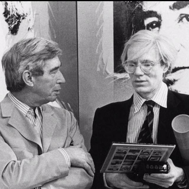 """Résultat de recherche d'images pour """"Andy Warhol et Hergé (photos)"""""""